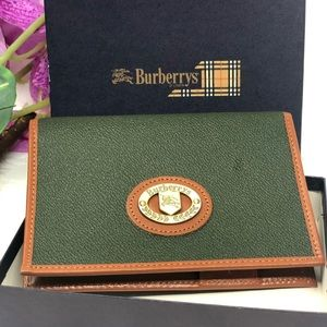 Authentic Preowned Burberry Agenda Wallet
